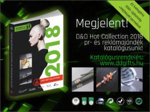 Reklámajándék katalógus, céges ajándék katalógus 2018 - D&D Gifts & Merchandising